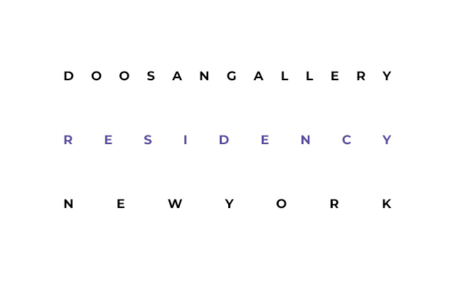 DOOSANGALLERY RESIDENCY NEW YORK